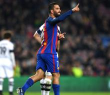 Хет-трик Турана принес «Барселоне» победу над «Боруссией» (Менхенгладбах)