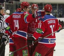 ЦСКА с минимальным счетом переиграл уфимский «Салават Юлаев»