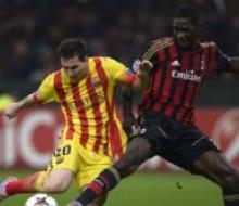 «Милан» и «Барселона» разошлись миром