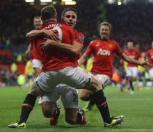 «Манчестер Юнайтед» обыграл «Арсенал» благодаря голу Робина ван Перси