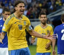 Ибрагимовича восьмой раз признают лучшим футболистом Швеции