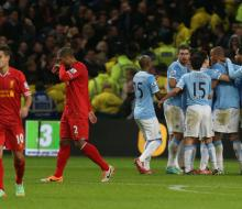 «Манчестер Сити» одержал волевую победу над «Ливерпулем»