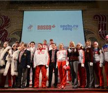 Представлена форма сборной России на сочинскую Олимпиаду