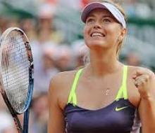 Шарапова станет третьей в обновленном рейтинге WTA