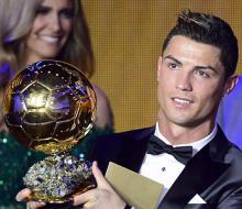 Роналду получил «Золотой мяч»