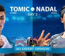 Матч Надаля и Томича на Australian Open закончился после первого сета