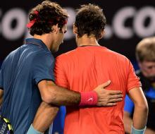 Надаль обыграл Федерера в 1/2 Australian Open