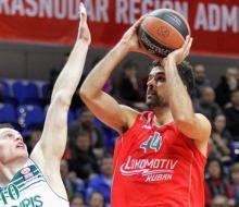 «Локомотив-Кубань» одержал вторую победу в «Топ-16» Евролиги