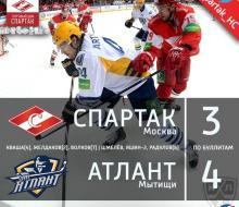 «Спартак» продолжил свою безвыигрышную серию