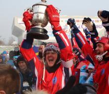 Россия стала чемпионом мира по хоккею с мячом