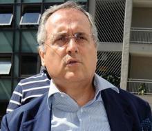 Президент «Лацио»: «Вчера я получил по меньшей мере 50, 70, 80 звонков с угрозам