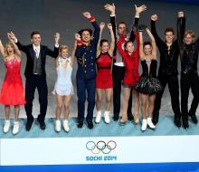 Россия завоевала первые награды в Сочи