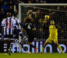 «Челси» упустил победу в матче с «Вест Бромвич Альбион»