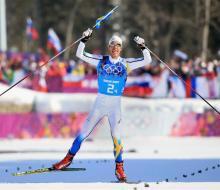 В воскресенье на ОИ в Сочи Россия завоевала одну серебряную медаль