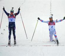 Свендсен завоевал свою первую золотую медаль в Сочи