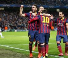 «Барселона» в Англии переиграла «Манчестер Сити»