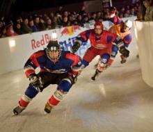 В Казани завершился ЧМ по скоростному спуску на коньках