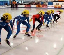В Казани стартовали соревнования по конькобежному спорту