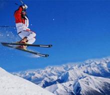 Мусульманская молодежь соревновалась по лыжным гонкам