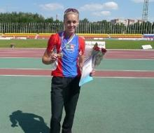 На Кубке России легкоатлетка Алсу Муртазина завоевала «бронзу»