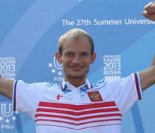 Следующее «золото» универсиады завоевал легкоатлет Андрей Кривов