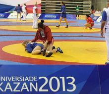 Самбисты России завоевали пять золотых наград универсиады