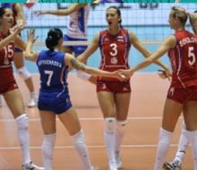 Казаские волейболистки успешно сыграли за сборную