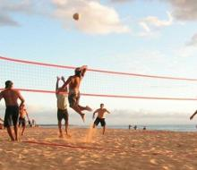 В первый уик-энд августа пройдет турнир по пляжному волейболу