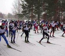 Нижнекамцы провели лыжный марафон