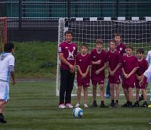 Благотворительный футбол подарил радость детям