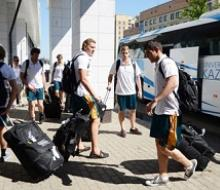 На Универсиаду в Казань прибыла делегация Австралии