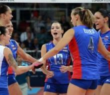 Российские волейболистки победили команду Алжира