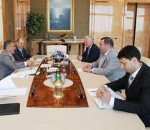 Президент Татарстана встретился с президентом Международной федерации самбо
