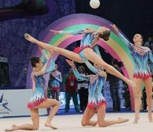 В Казани проходит последний чемпионат по художественной гимнастике перед Универс