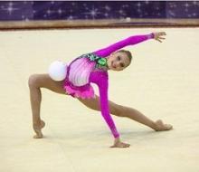Нижнекамские гимнастки на фестивале «Алина-2013» показали свой «Талисман надежды