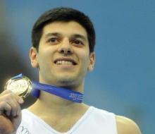 Гимнаст Эмин Гарибов стал трехкратным чемпионом универсиады