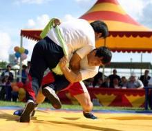 На состязаниях по борьбе на поясах заявились 150 спортсменов