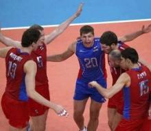 Волейболисты России и Болгарии первыми сыграют в полуфинале Олимпиады