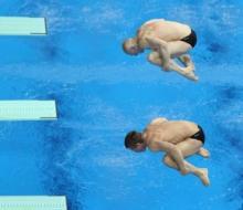 «Золото» универсиады в синхронных прыжках завоевали россияне