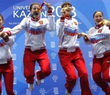 Россия установила абсолютный рекорд универсиад по выигранным золотым медалям