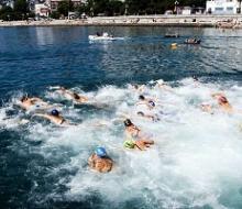 В Казани провели открытый чемпионат по плаванию на открытой воде