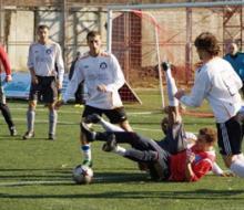 Апрельский футбол в Казани