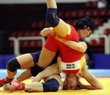С международного турнира по вольной борьбе представительница Татарстана вернулас