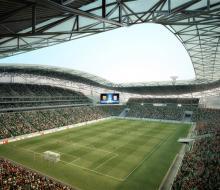 Футбольный стадион на 45 тысяч зрителей сдадут в срок