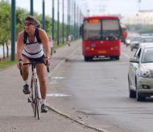 Велосипедисты открывают сезон