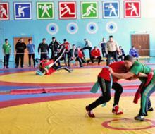 Нижнекамск принимал турнир по национальной борьбе