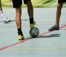 Определились лучшие студенты-футболисты