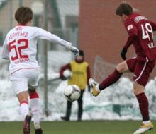 Молодёжка «Рубина» забила два мяча