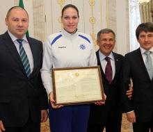Минниханов: «А мы и дальше будем поддерживать волейбол и гордиться вами»