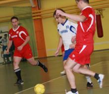 В Нижнекамске сыграли в мини-футбол